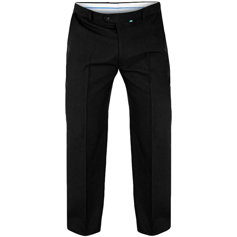 D555 Max Big and Tall King Size Trousers - Black