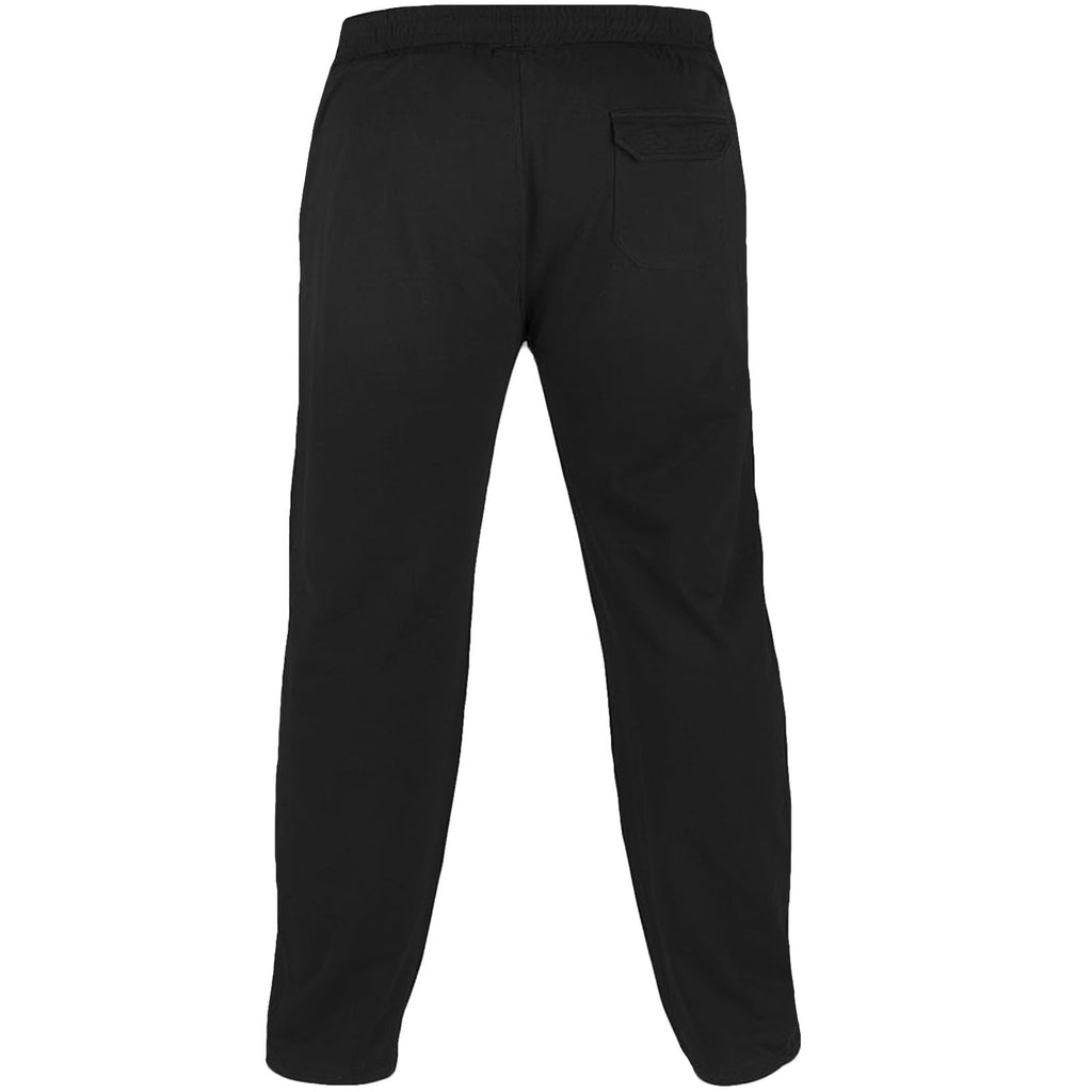 D555 Rory King Size Jogging Bottoms - Black