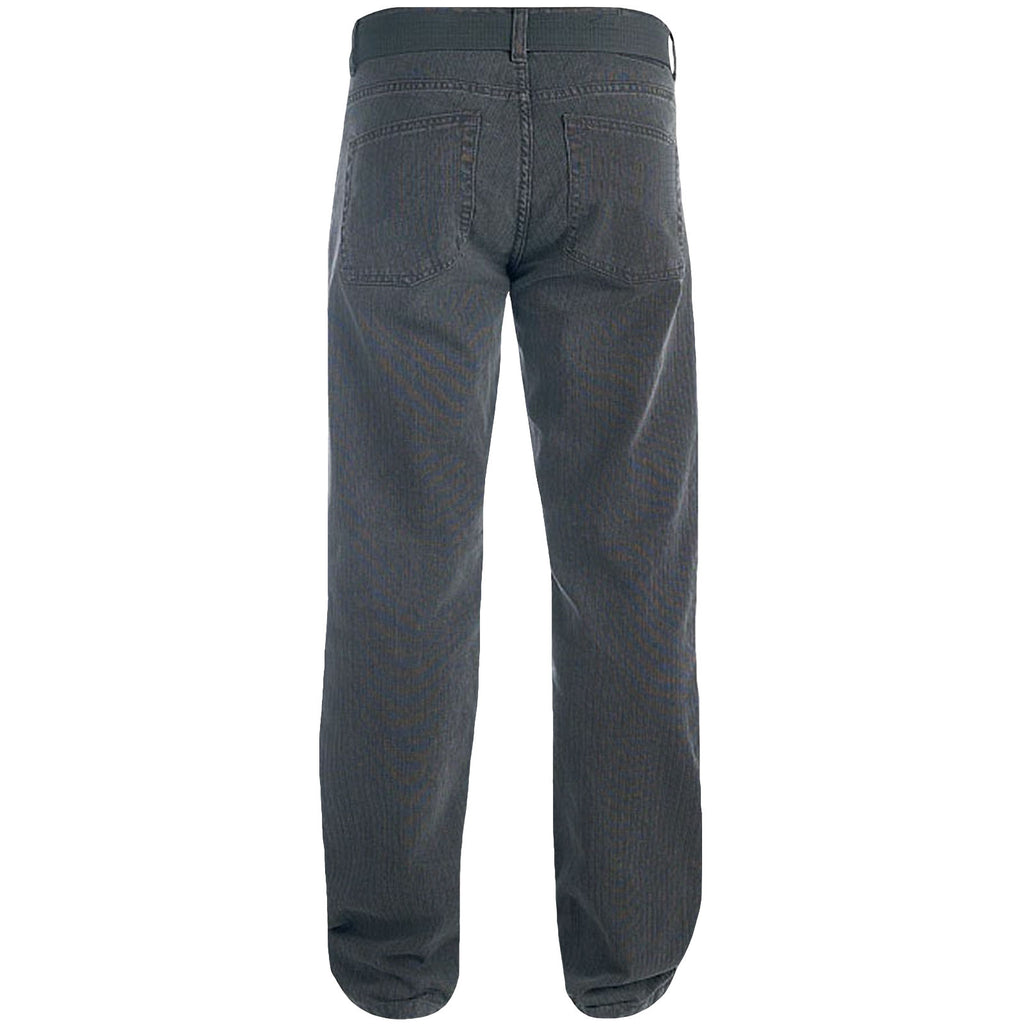 Duke London Canary King Size Cord Jeans - Grey
