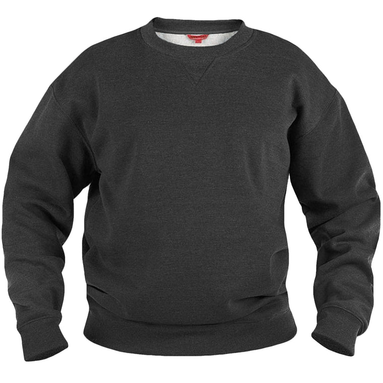 Duke Sweat King Size Crew Neck Sweatshirt - Grey