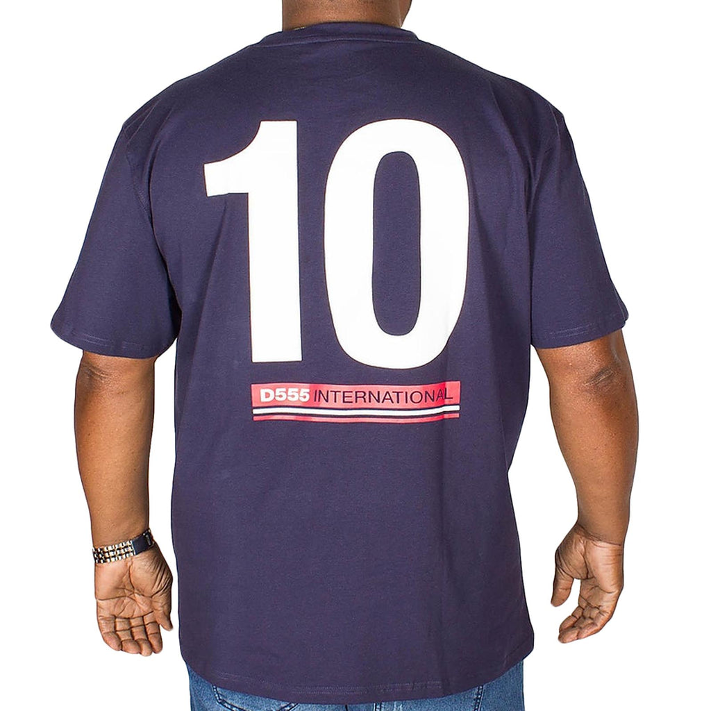 Duke D555 Leon Big Tall T-Shirt - Navy