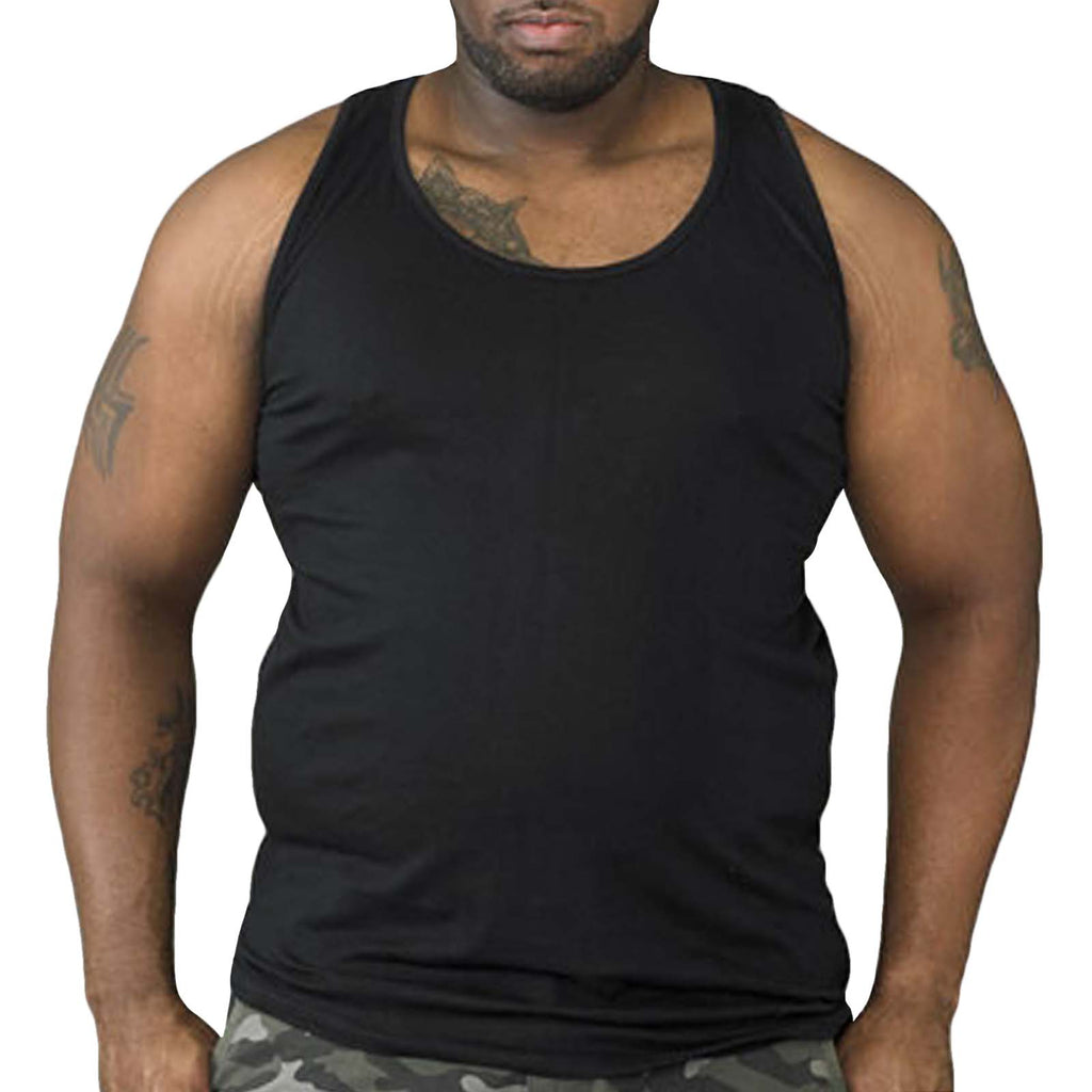 Duke D555 Fabio Big Tall Vest - Black