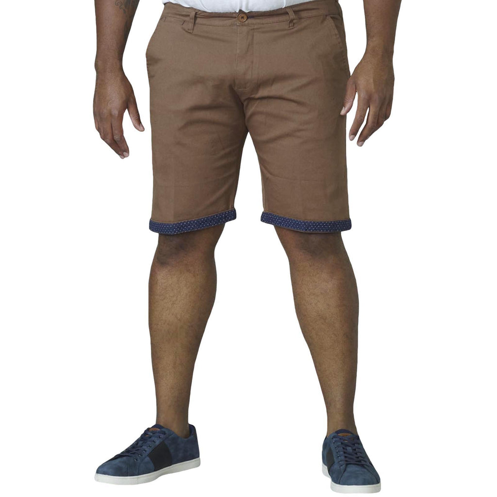 D555 Luke Big Tall Shorts - Tan