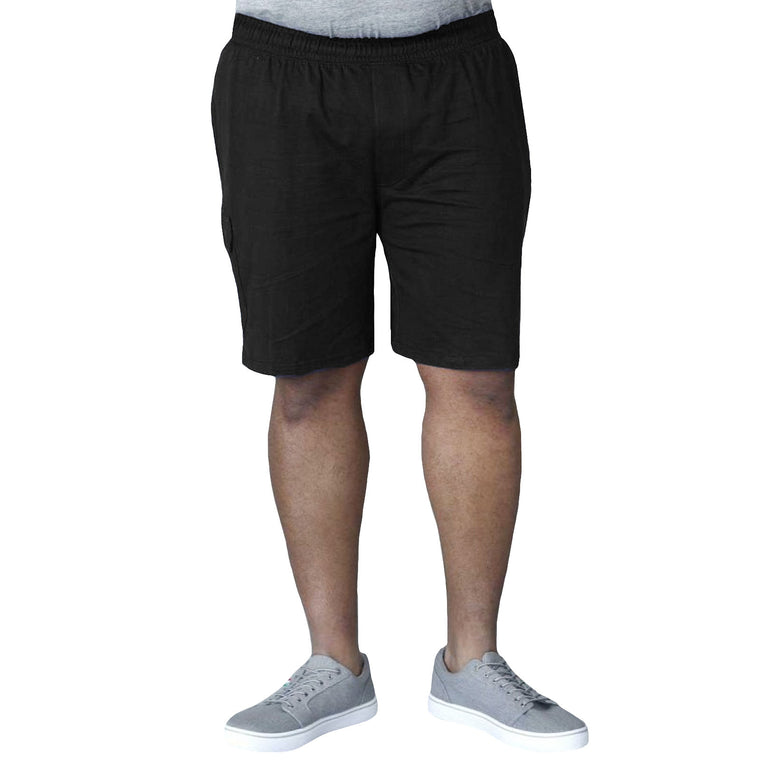 Duke D555 John Big Tall Cargo Shorts - Black