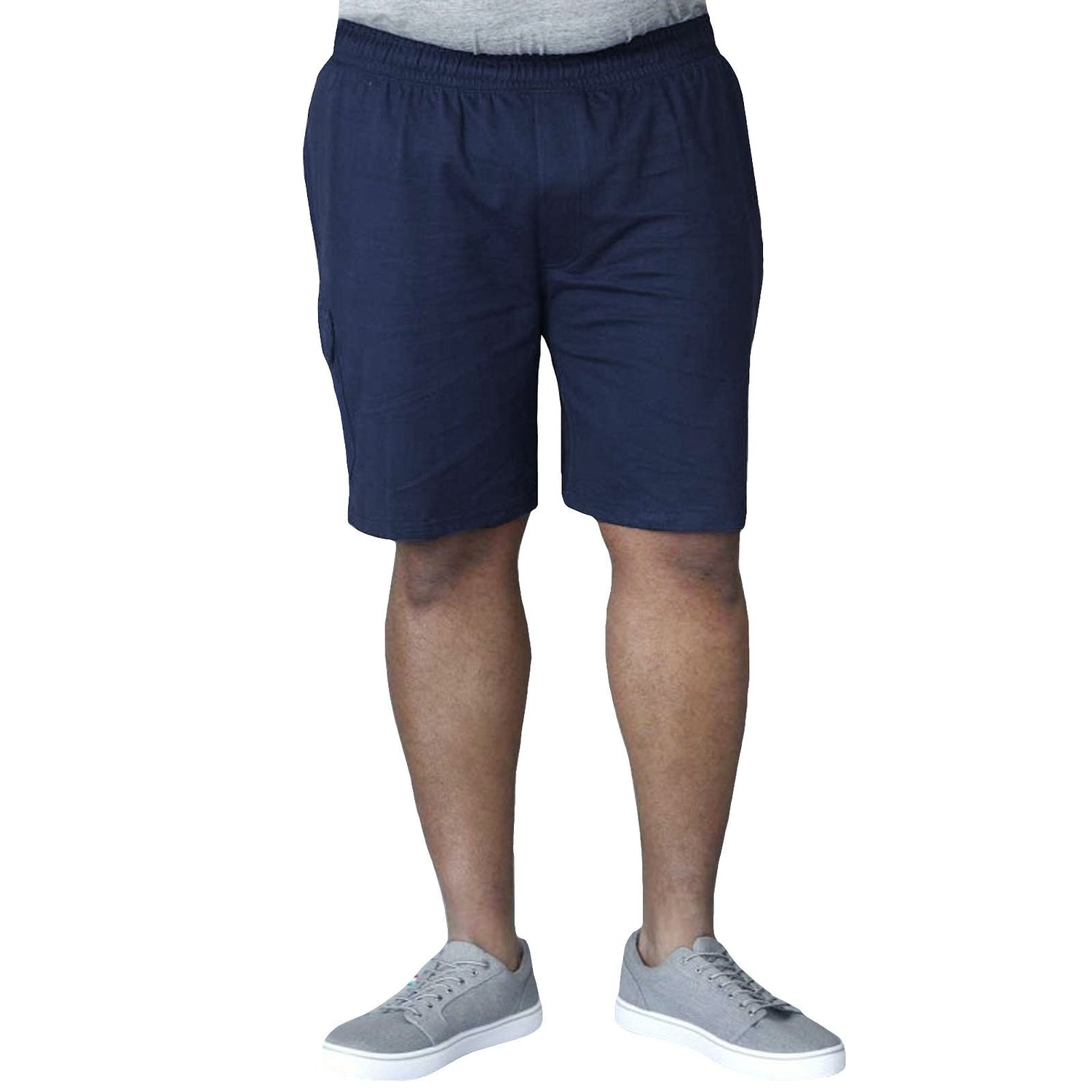 Duke D555 John Big Tall Cargo Shorts - Navy
