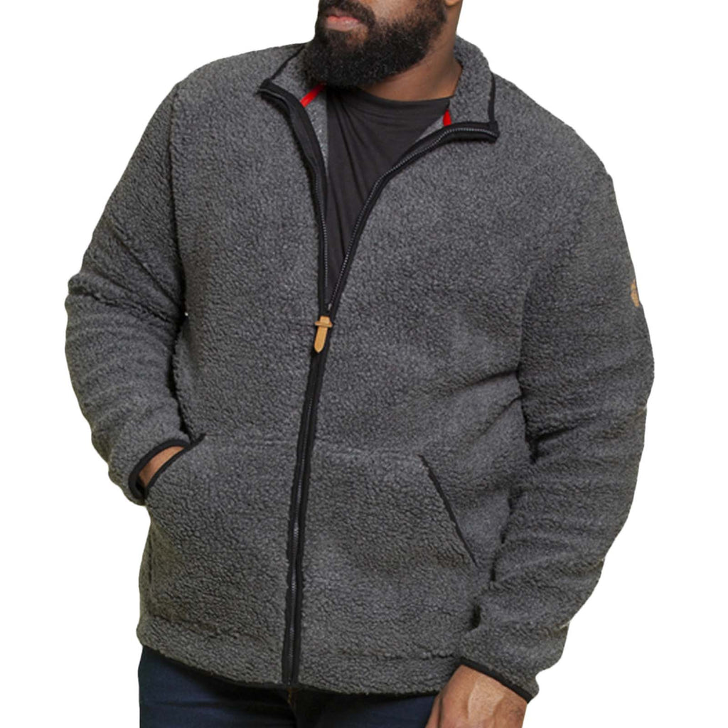 Duke D555 Big Tall Bawty Bonded Jacket - Charcoal