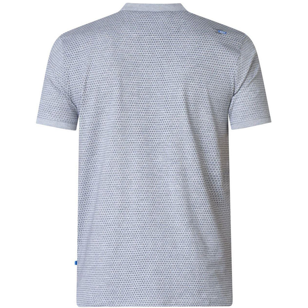D555 Elijah Big Tall Polo Shirt - Grey