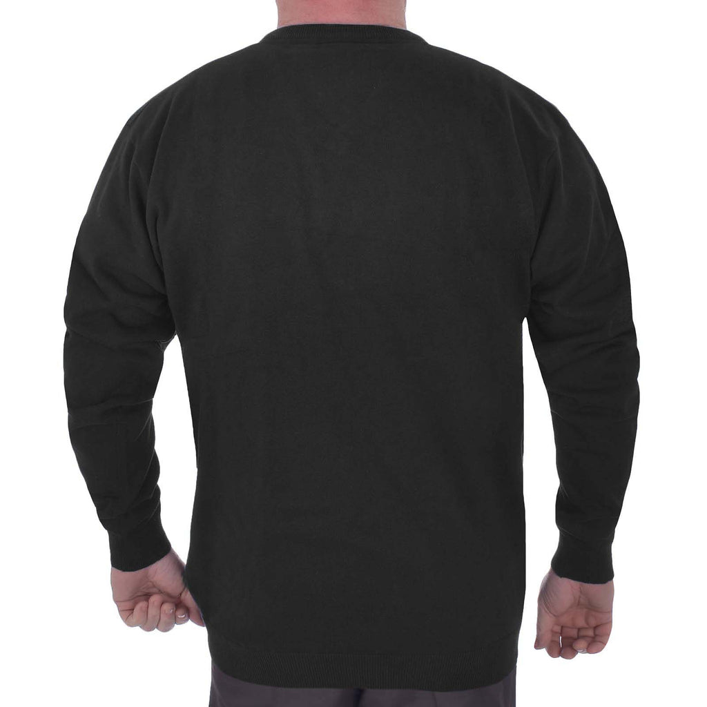 Duke D555 Big Tall Maltby Sweater - Black