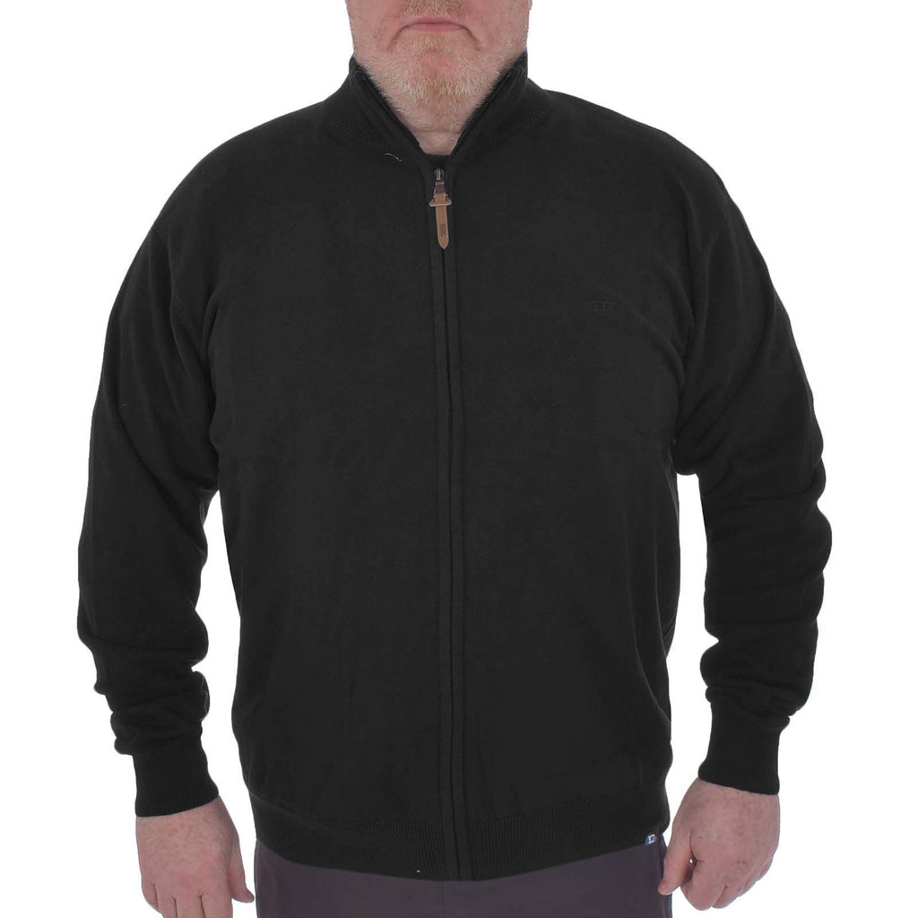 Duke D555 Big Tall Buddy Sweater - Black