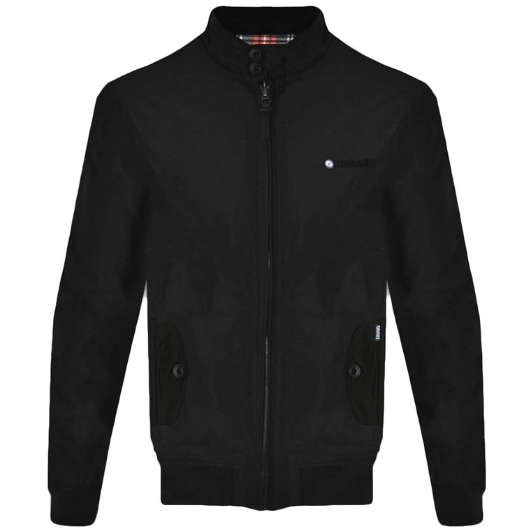 Lambretta Harrington Jacket - Black
