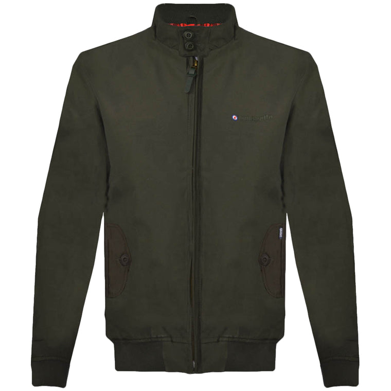 Lambretta Harrington Jacket - Khaki
