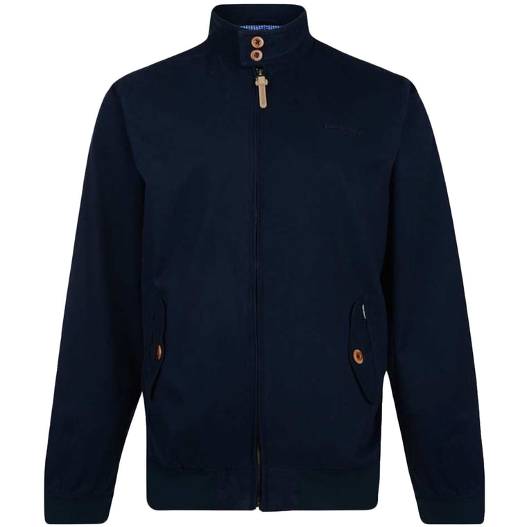 Lambretta Mens Harrington Bomber - Navy