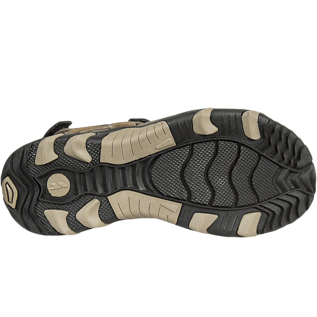 Trespass Mens Belay Suede Sandals - Sand