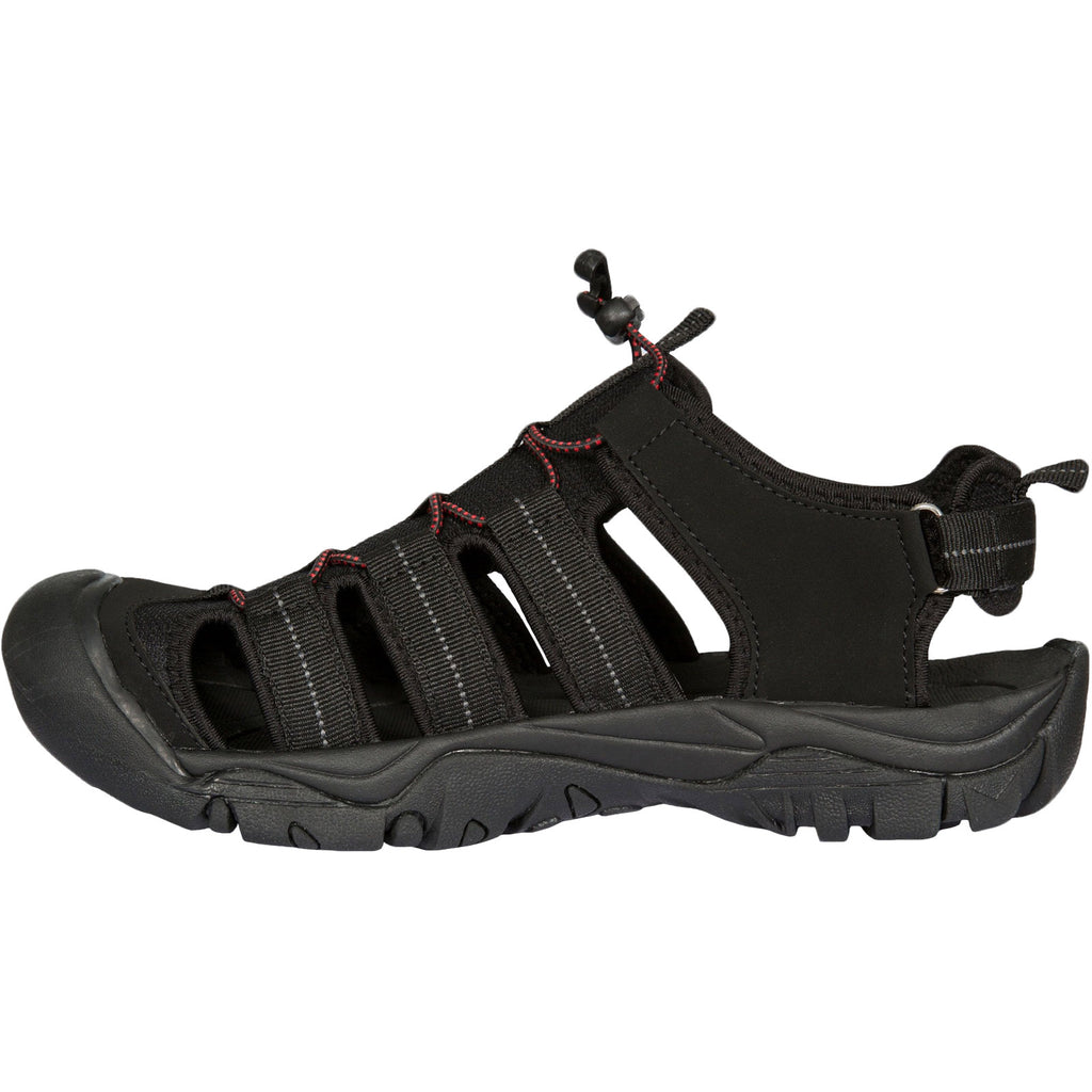 Trespass Mens Torrance Closed Toe Sandals - Black