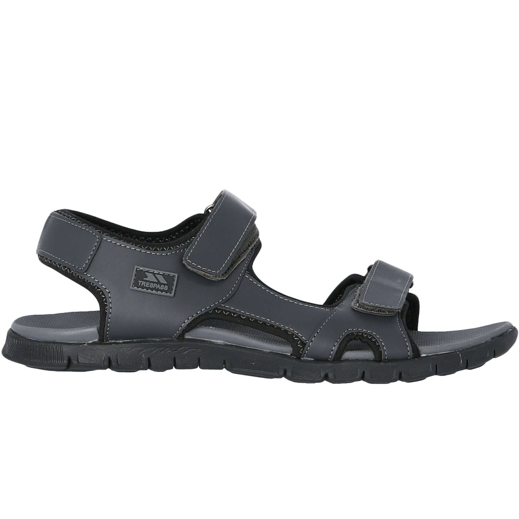 Trespass Mens Dilton Adjustable Sandals - Grey