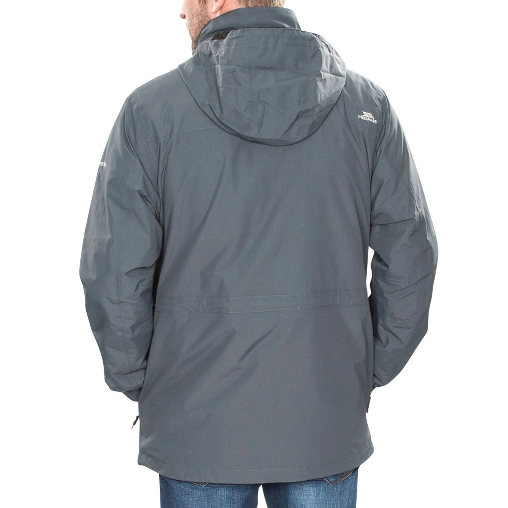 Trespass Edgewater II 3 IN 1 Fleece Jacket - Carbon