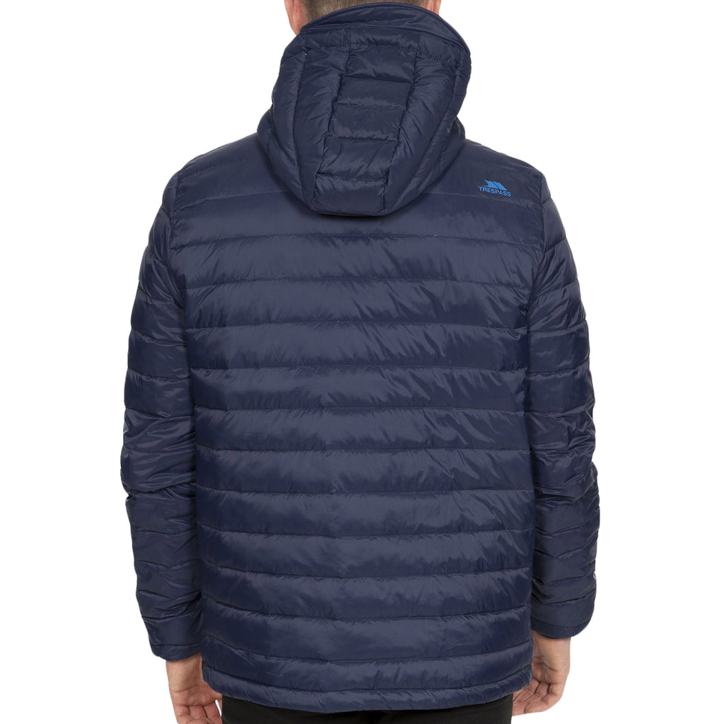 Trespass Mens Digby Packaway Jacket - Navy