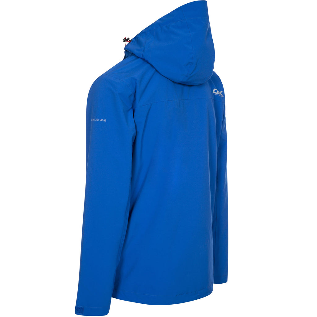 DLX Mens Oswalt Waterproof Jacket - Blue