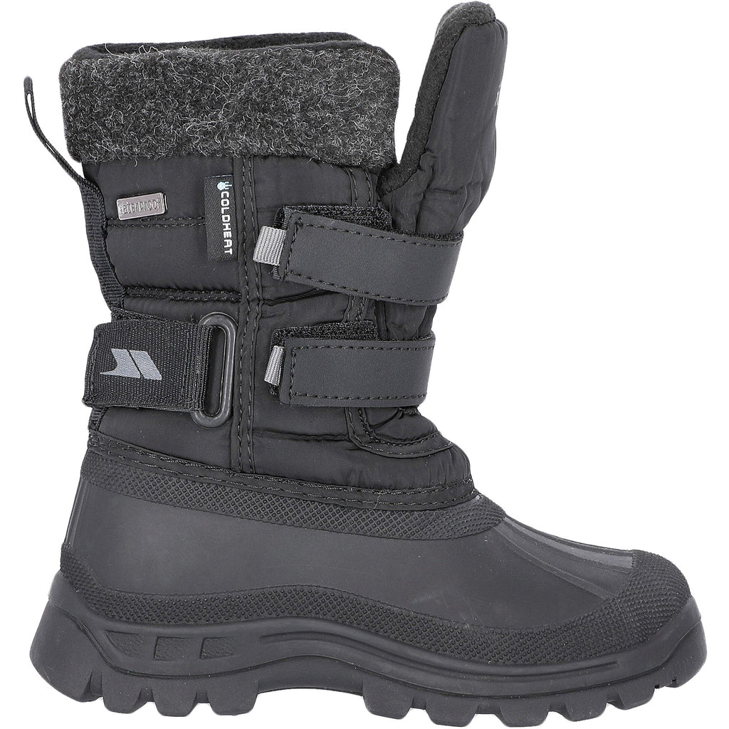 Trespass Strachan II Snow Boots - Black