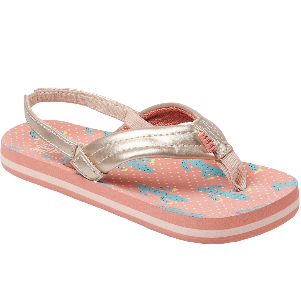 Reef Little Ahi Kids Girls Sandals - Cactus