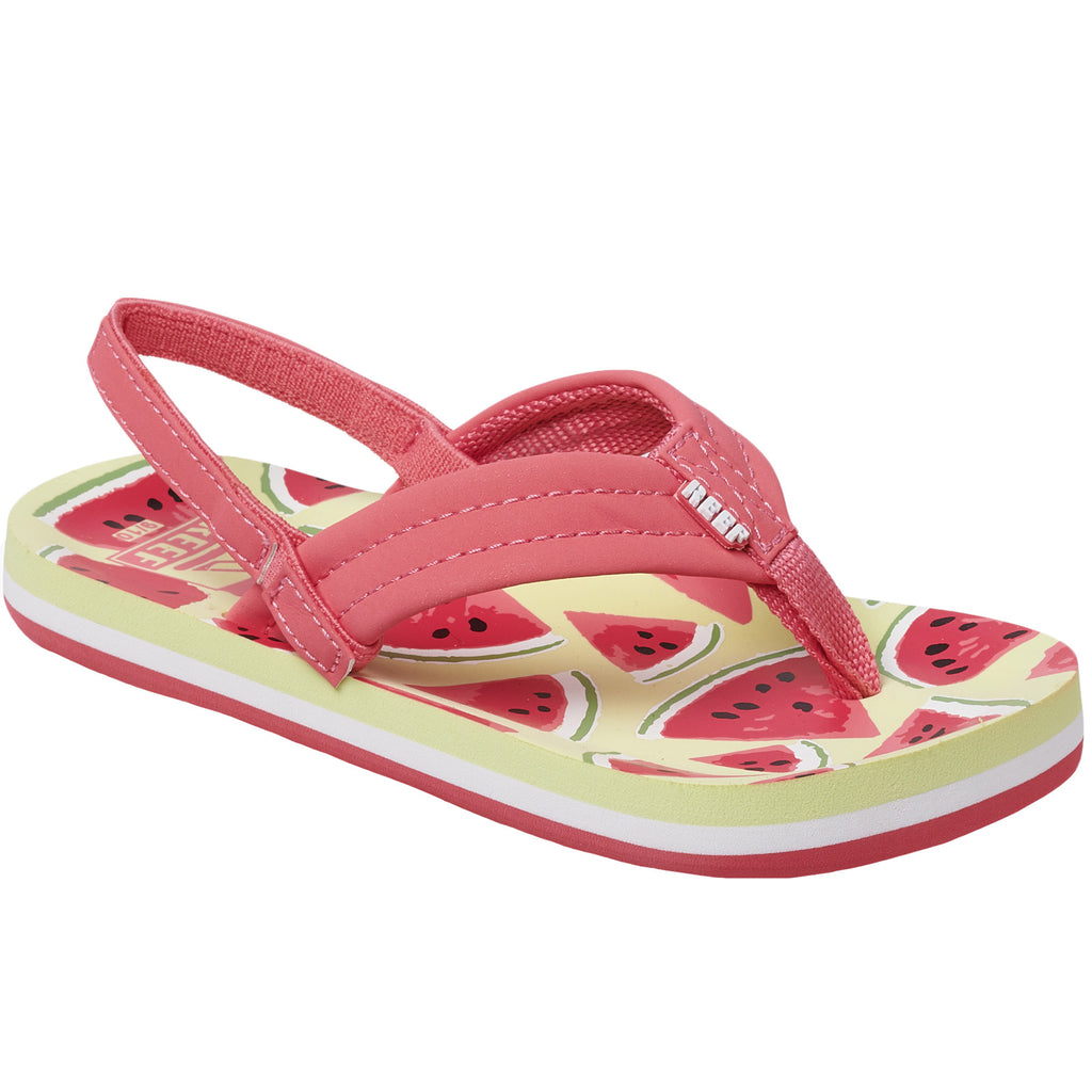 Reef Little Ahi Kids Girls Sandals - Watermelon