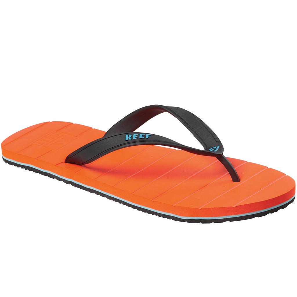 Reef Mens Switchfoot Flip Flops Thongs Sandals - Orange