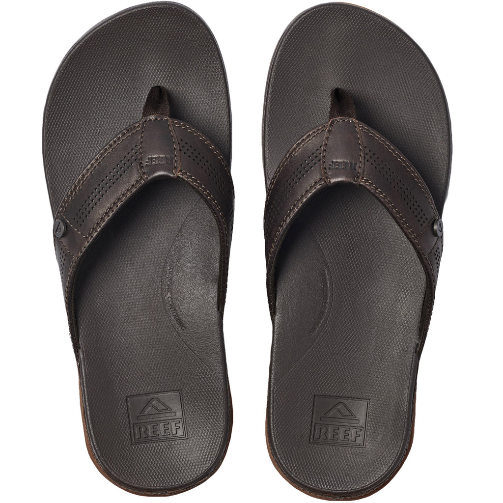 Reef Mens Cushion Lux Sandals - Brown