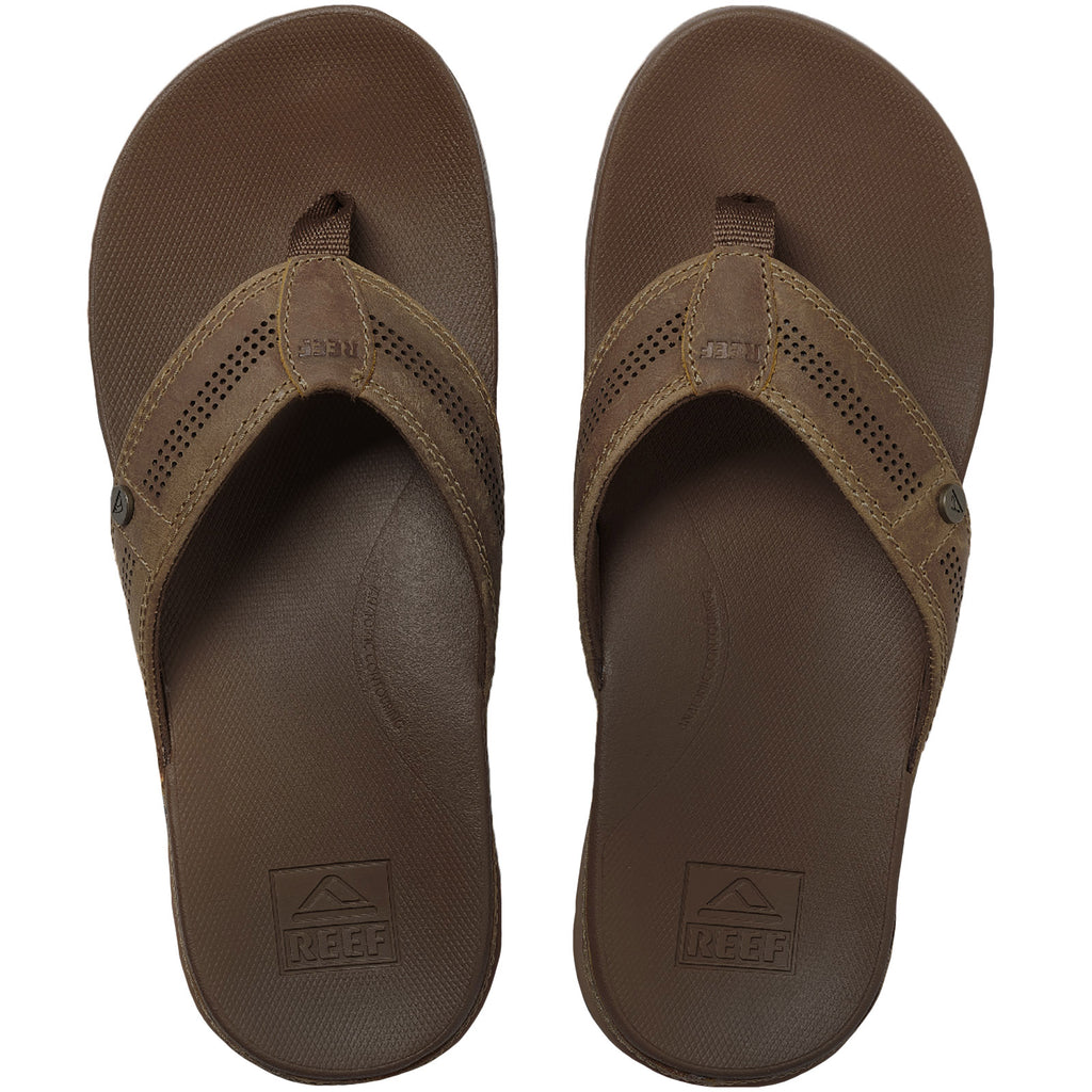 Reef Mens Cushion Lux Sandals - Toffee