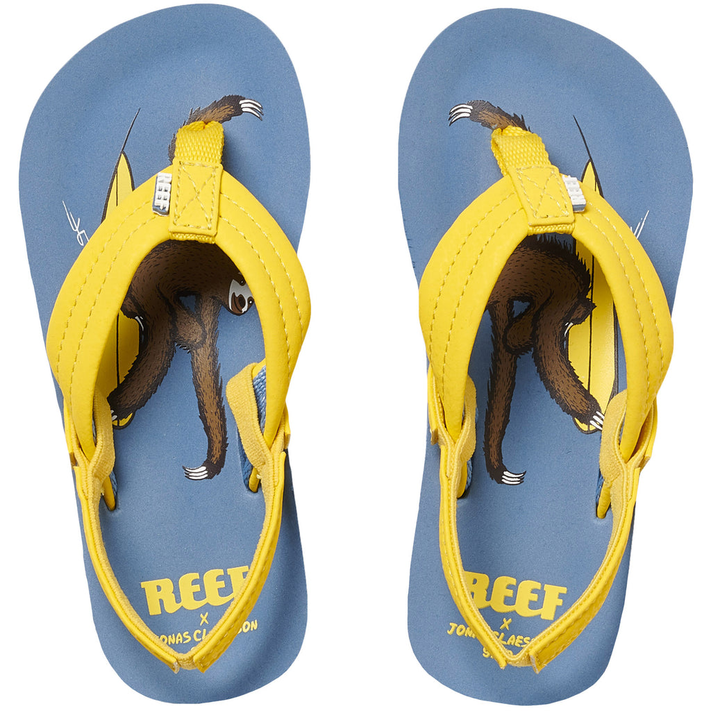 Reef Childrens Jonas Claesson LIL Sandals - Multicoloured