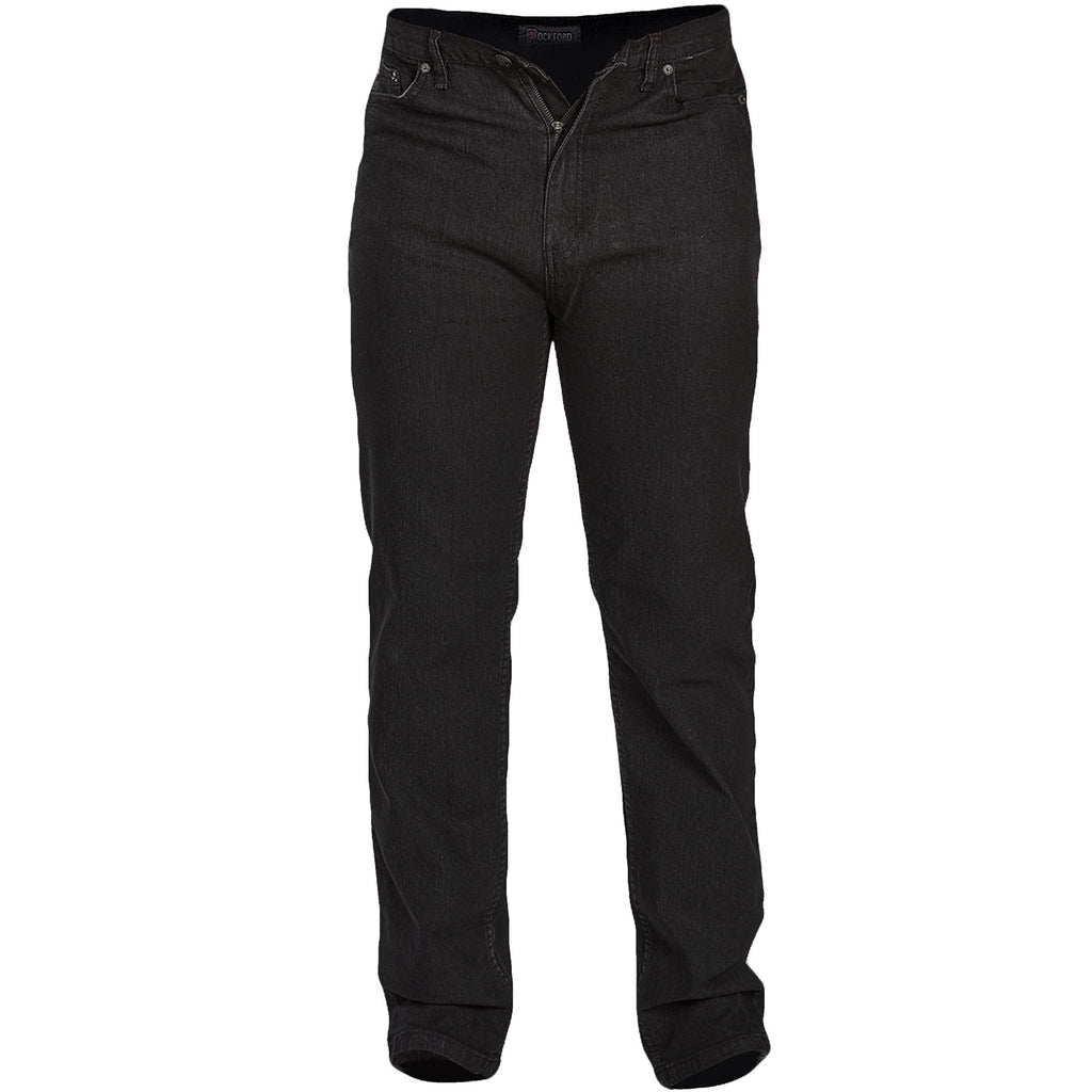 D555 Rockford Carlos Big Tall Jeans - Black
