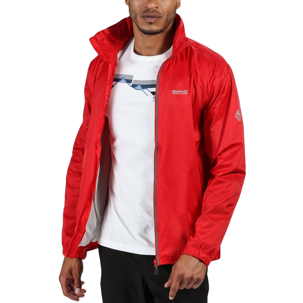 Regatta Mens Lyle IV Waterproof Jacket - Pepper