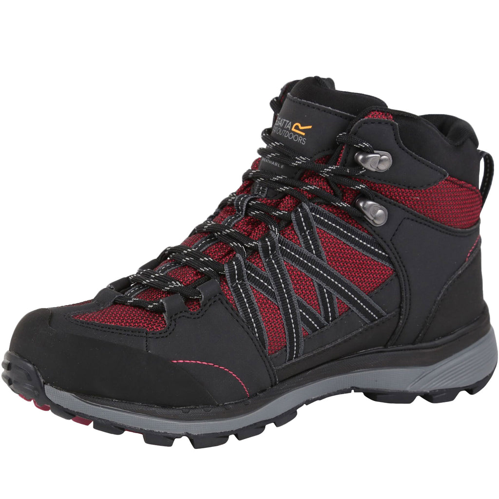 Regatta Womens Samaris Waterproof Walking Boots - Beetroot Ash
