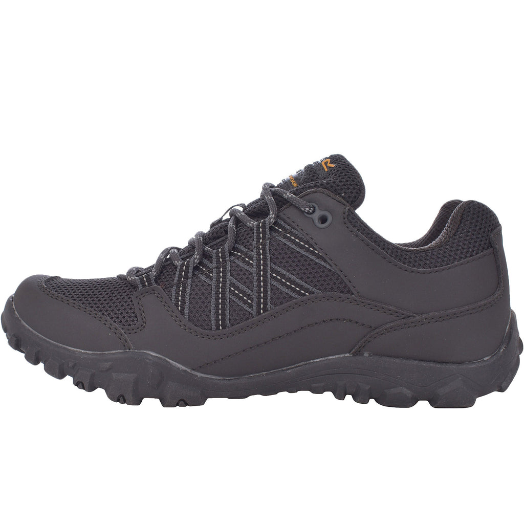 Regatta Womens Edgepoint III Waterproof Walking Shoes - Granite