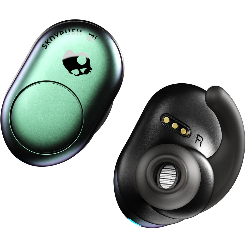 Skullcandy Push True Wireless Earbuds With Charging Case - Psycho Tropical Teal