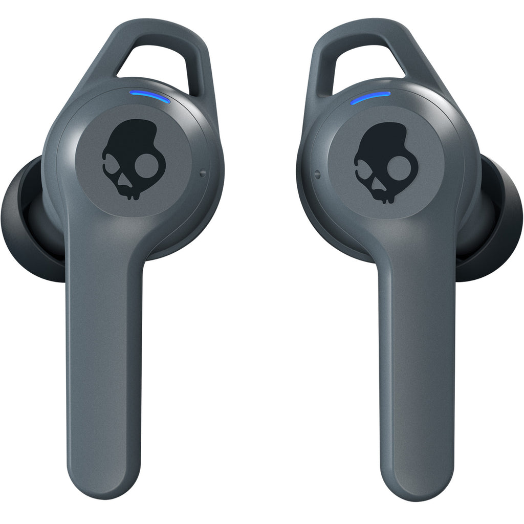 Skullcandy Indy Fuel True Wireless Earbuds With Charging Case - Chill Grey
