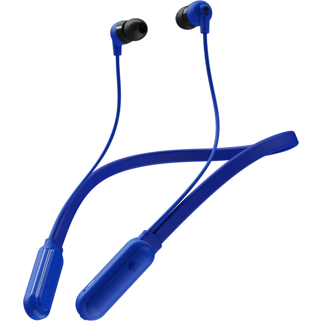 Skullcandy Ink'd + Wireless Bluetooth In-Ear Earbuds - Cobalt Blue