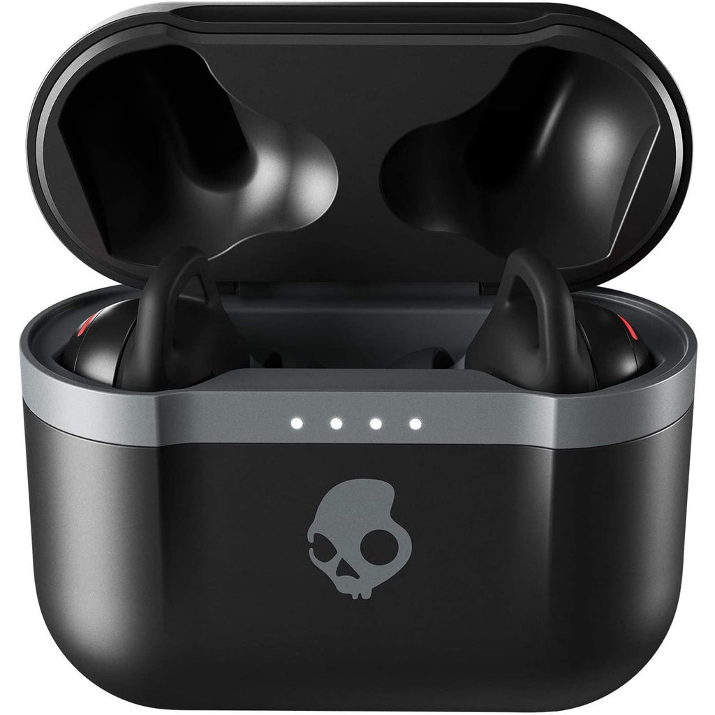 Skullcandy Indy Evo True Wireless In-Ear Earbuds With Charging Case - Black