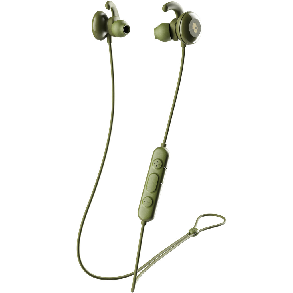 Skullcandy Method Wireless In-Ear Earbuds - Elevated Olive