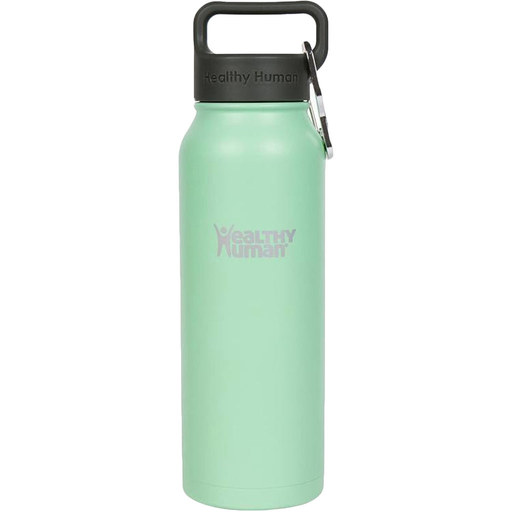 Healthy Human Stein Reusable Stainless Steel Water Bottle - Seamist - 21oz