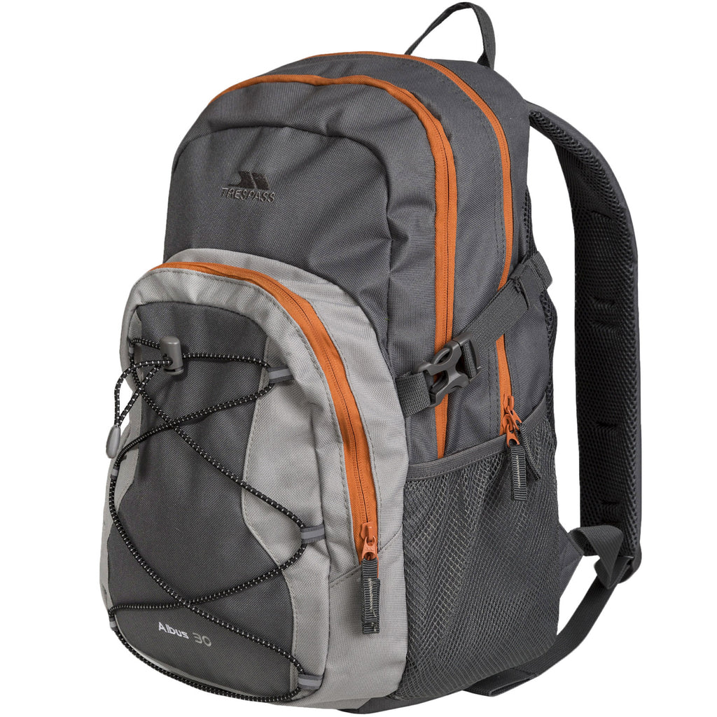 Trespass Unisex Albus Multi-Function Adventure Backpack - Flint