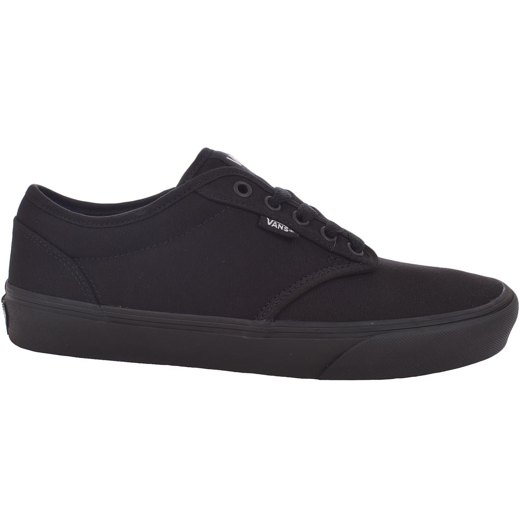 Vans Mens Atwood Canvas Trainers - Black