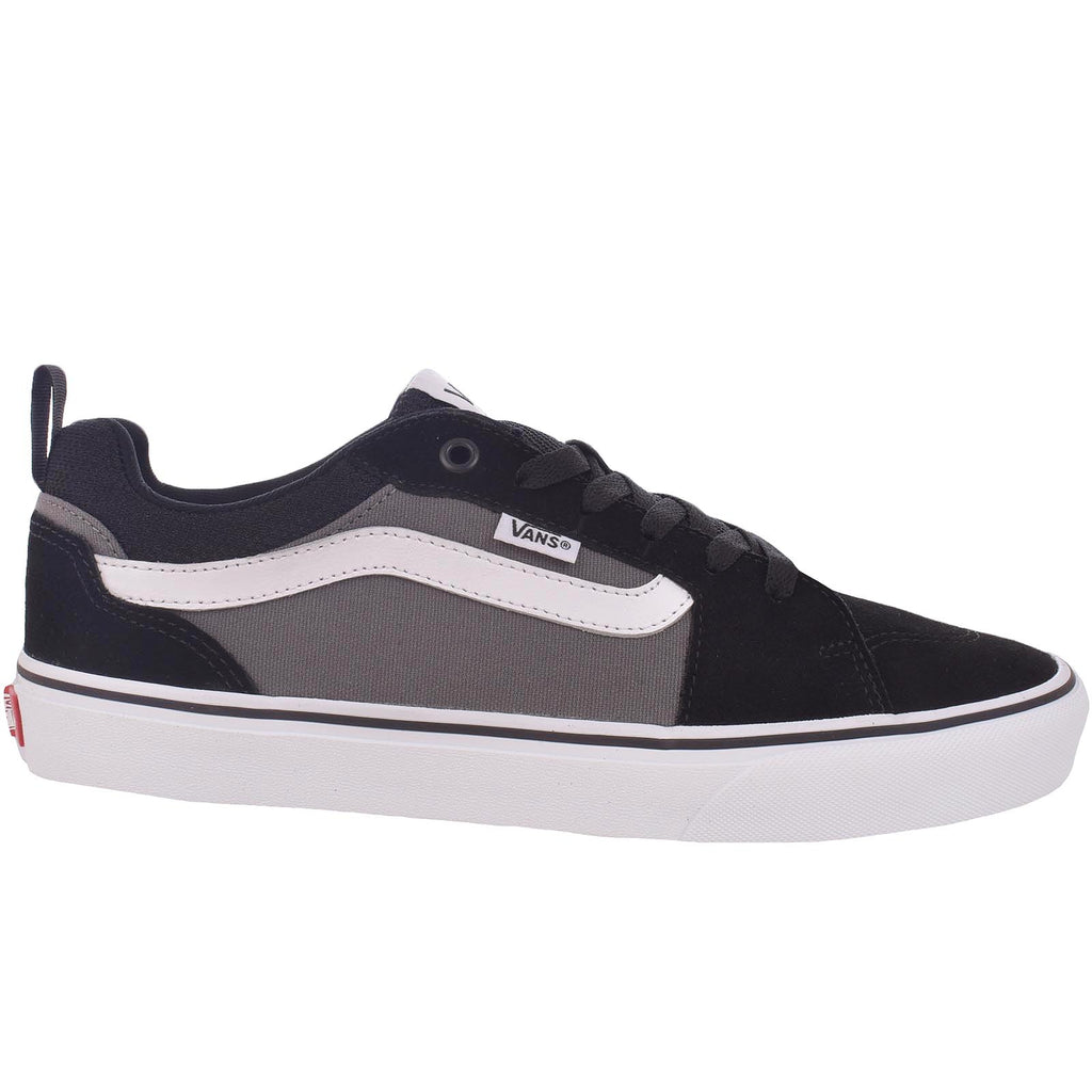 Vans Mens Filmore Canvas Skater Colourblock Trainers - Black - 10.5 UK