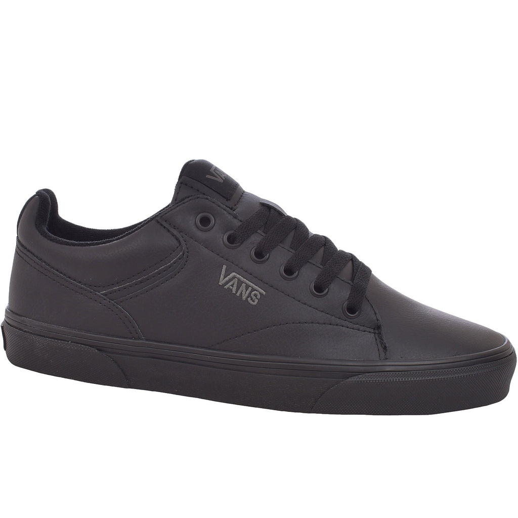 Vans Boys Youth Kids Seldan Trainers - Black