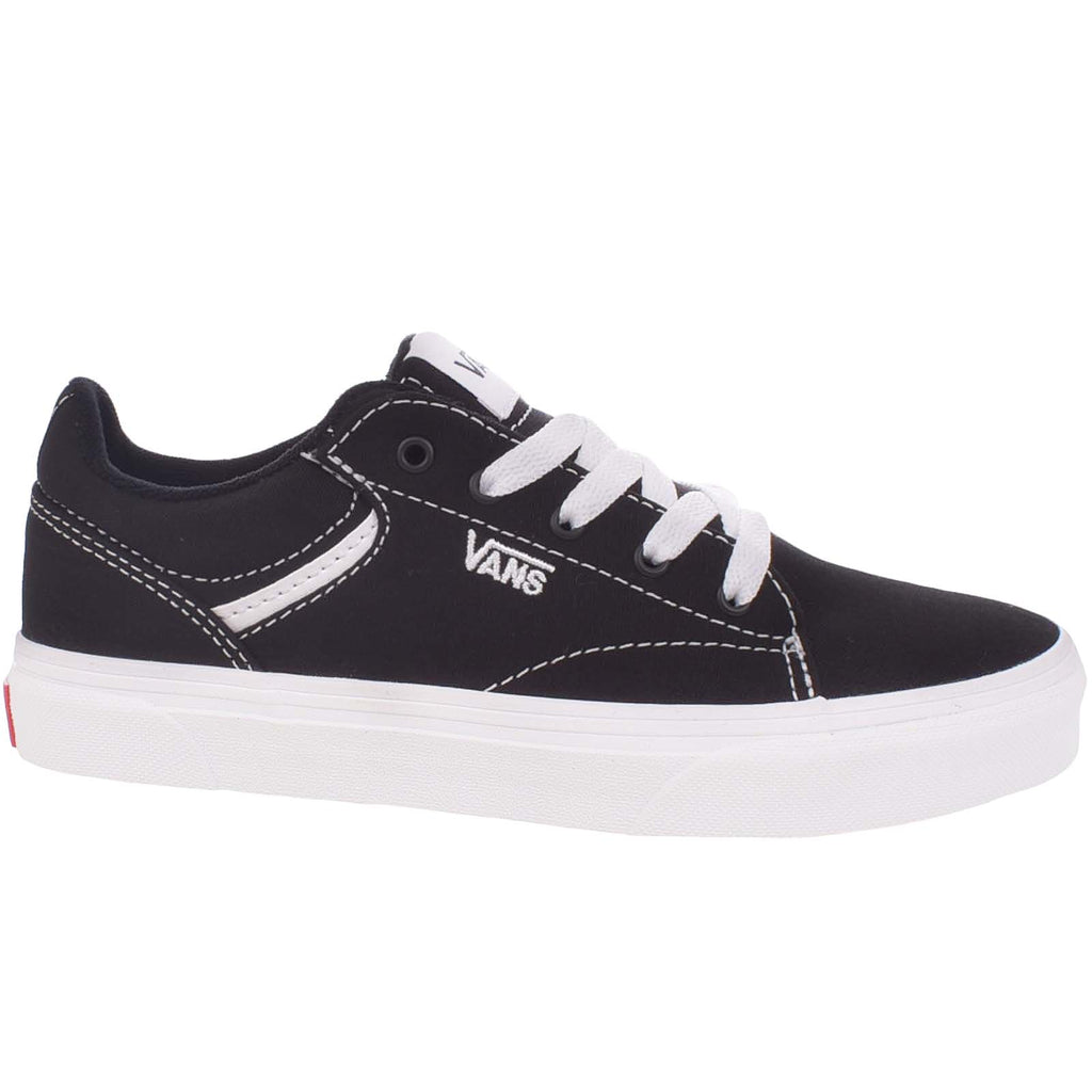 Vans Seldan Trainers -  Black/White