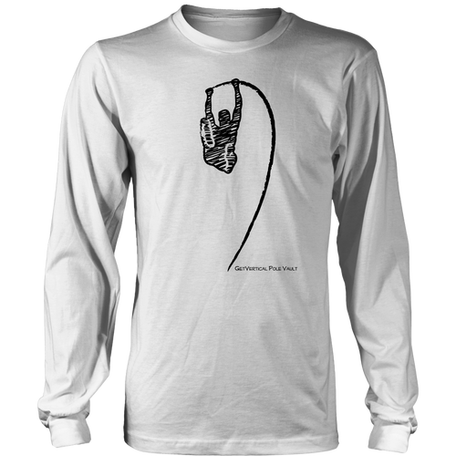 M's Pole Vault Sketch Long Sleeve