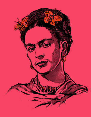 Frida Kahlo - Women's Relaxed V-Neck T-Shirt