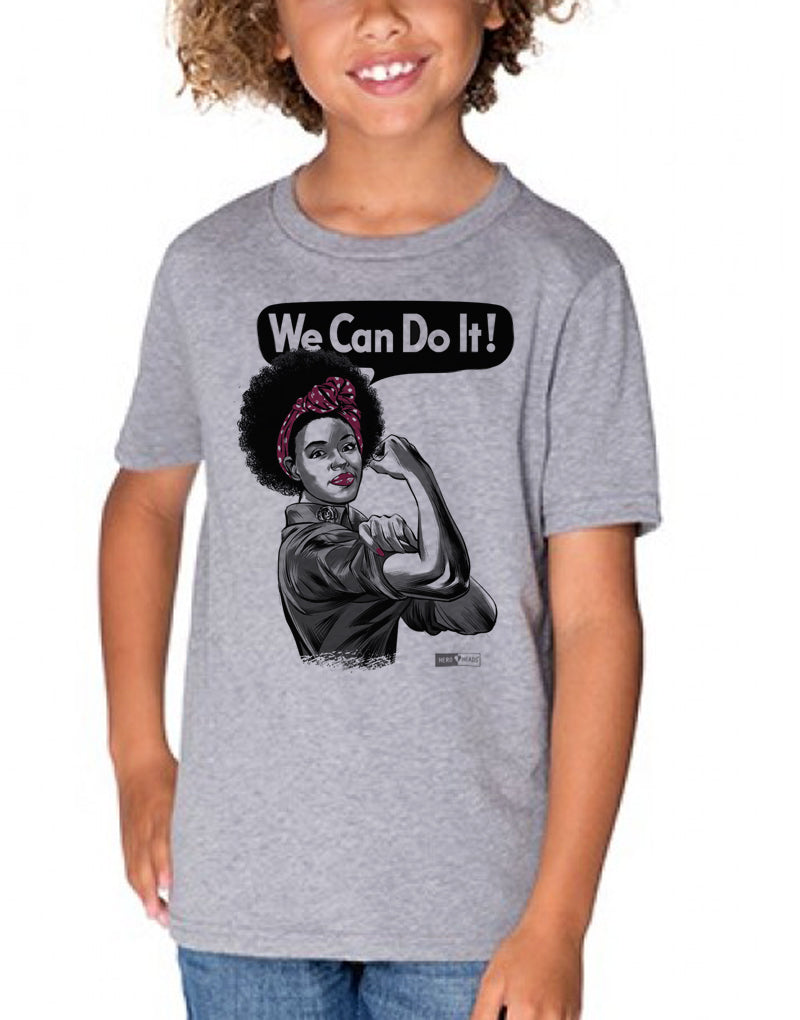 Rosie the Riveter - African American - Unisex Youth Tee