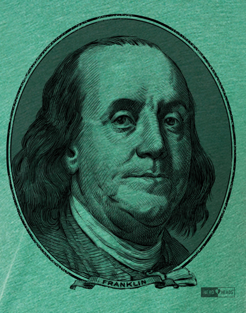 Benjamin Franklin - Men's Crew Tee