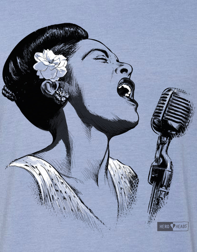 Billie Holiday - Men's Crew Tee