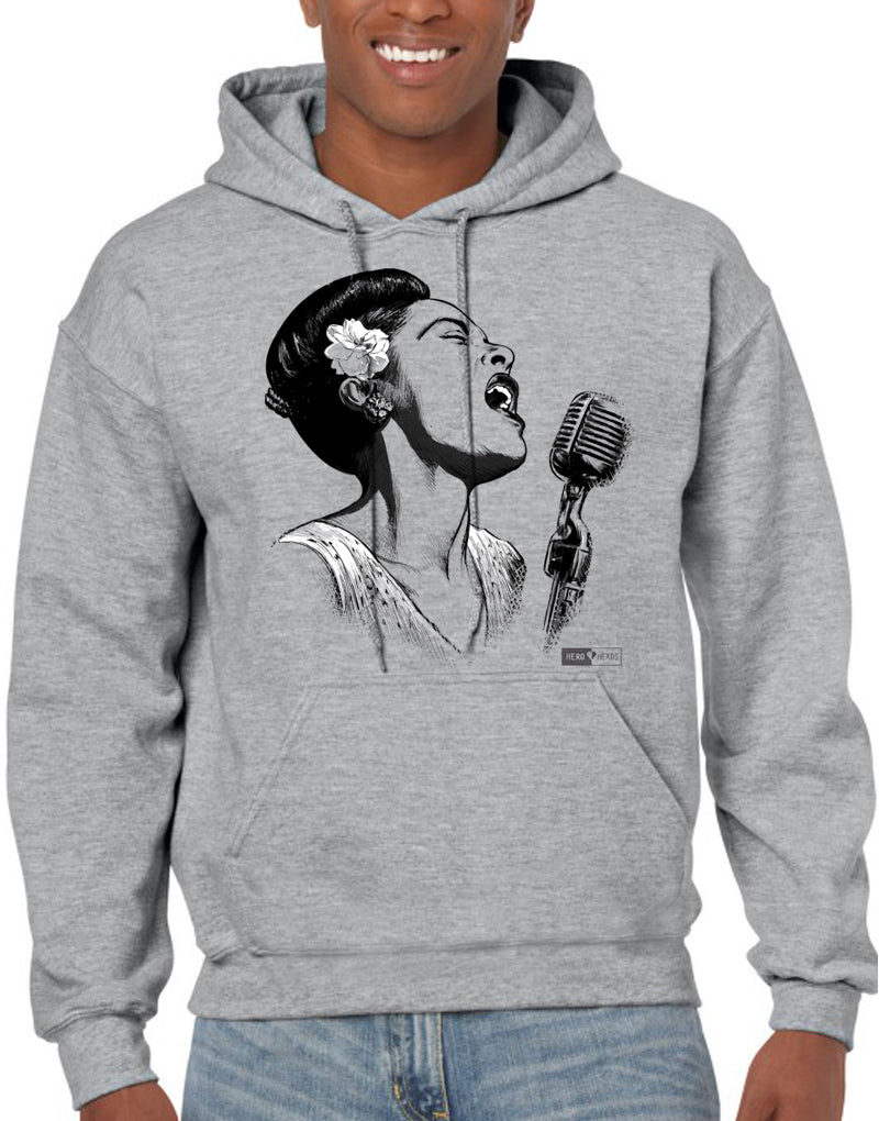 Billie Holiday - Unisex Hooded Sweatshirt